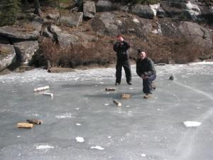 Log Curling Champions